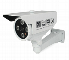 "1/3"" SONY CCD 700TVL Outdoor LED Array IR Camera System"