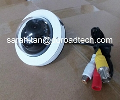 Mini Metal Dome Bus CCTV Camera with LOGO printing