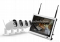 Home Security WIFI IP Cameras NVR with