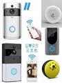WiFi Doorbell Intercom Two-way Audio Wireless 720P Security Camera Alarm 4