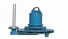 古藍QXB離心式潛水曝氣機