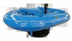 古蓝环保设备浮筒曝气机