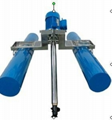 古蓝TBQJ型推流式搅拌曝气机