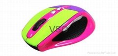 2013 newest cool optical 2.4G wireless  game mouse with 7D