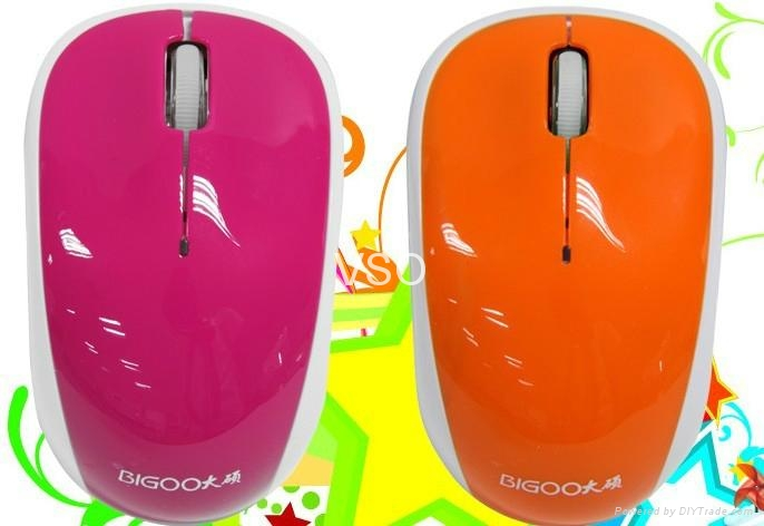 Fashionable 2.4G wireless mouse/colorful mouse/popular mouse 2