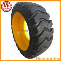17.5-25 23.5-25 solid OTR tires with rims