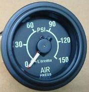 "Utrema Dual Air Pressure Gauges 2-1/16"""