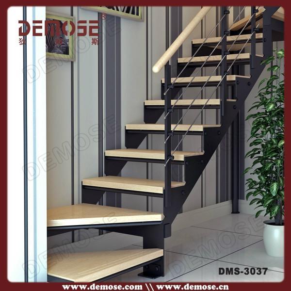 Indoor Stair Economic Used Metal Stairs Design 1
