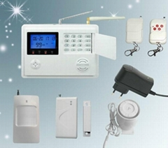 GSM alarm system with vo