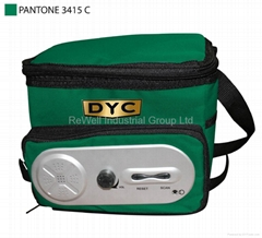 DYC company  Cooler bag with Speaker 6 Can Capacity with Logo