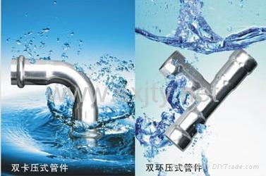 給水用薄壁不鏽鋼管 1
