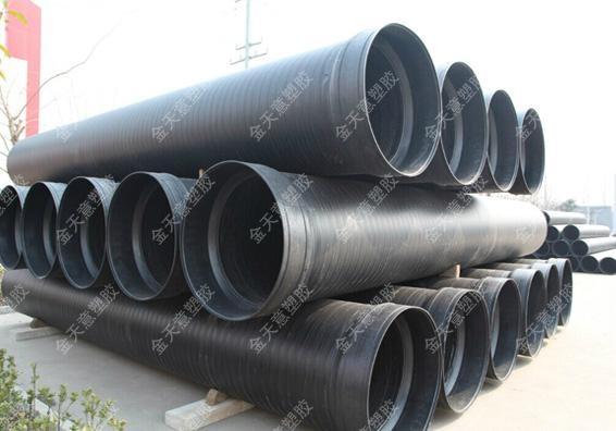 HDPE雙平壁鋼塑復合纏繞排水管 4