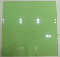 新款純色全拋釉 熒光綠色 600X600