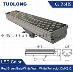 廣東新出產品紅綠藍黃七彩變化LED投光燈