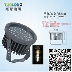 防水透氣18WLED投光燈