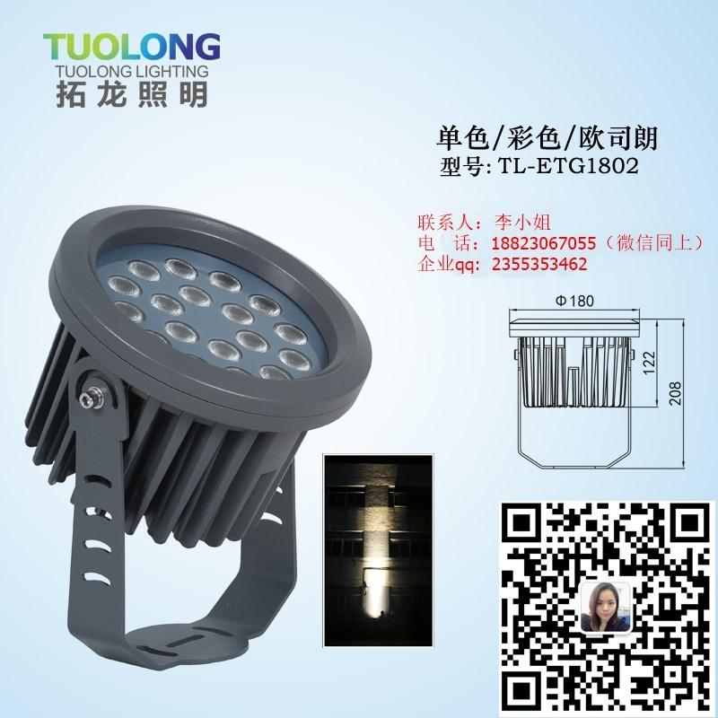 72WRGBW投光燈外控DMX512 1