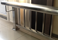 Type A/B/C/D Stainless Steel Glass  Railing Post Set