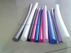Bespoke Eco-friendly EPE foam rods for swimming pool