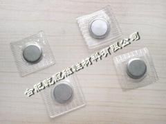 PVC磁扣  大衣磁扣 黑色磁扣 服装辅料扣 强磁纽