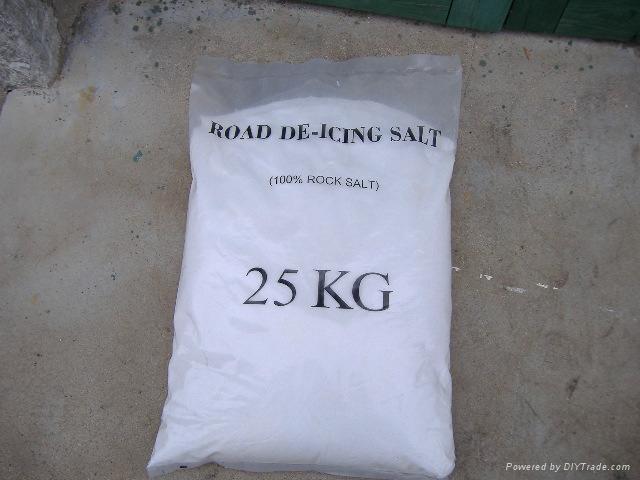 industrial salt with  PE bags 3