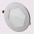 Dimmable 6W LED Panel light 1