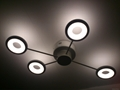 modern LED ceiling light fixture for hotel and home MiL-MX2474-9
