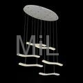 High quality decorative hanging 2014 LED core modern pendant light