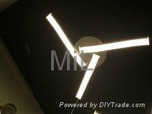 High quality decorative hanging 2014 LED core modern pendant light 4