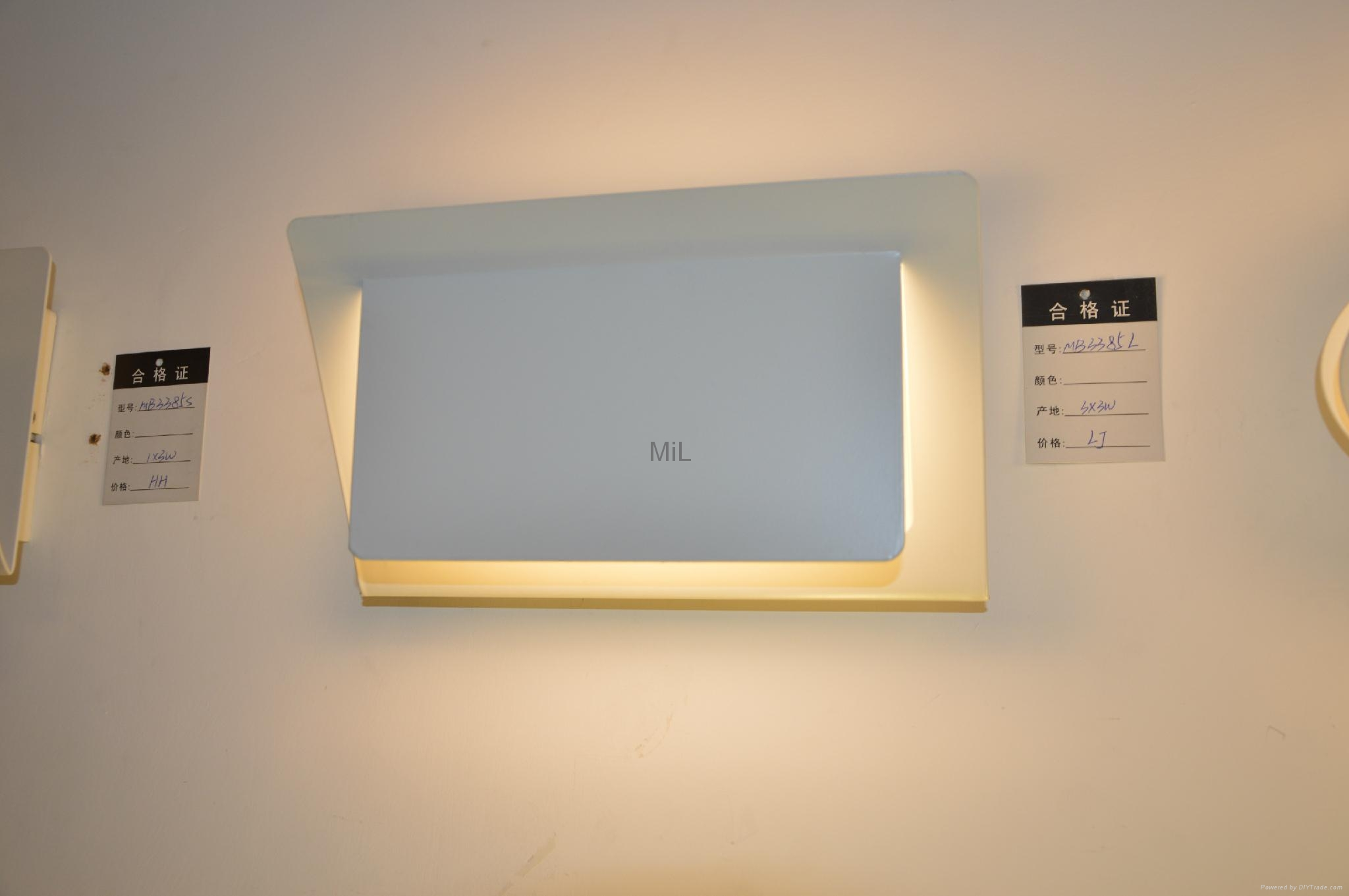 Modern LED Wall Lighting with CE &RoHS MiL-MB3335 5