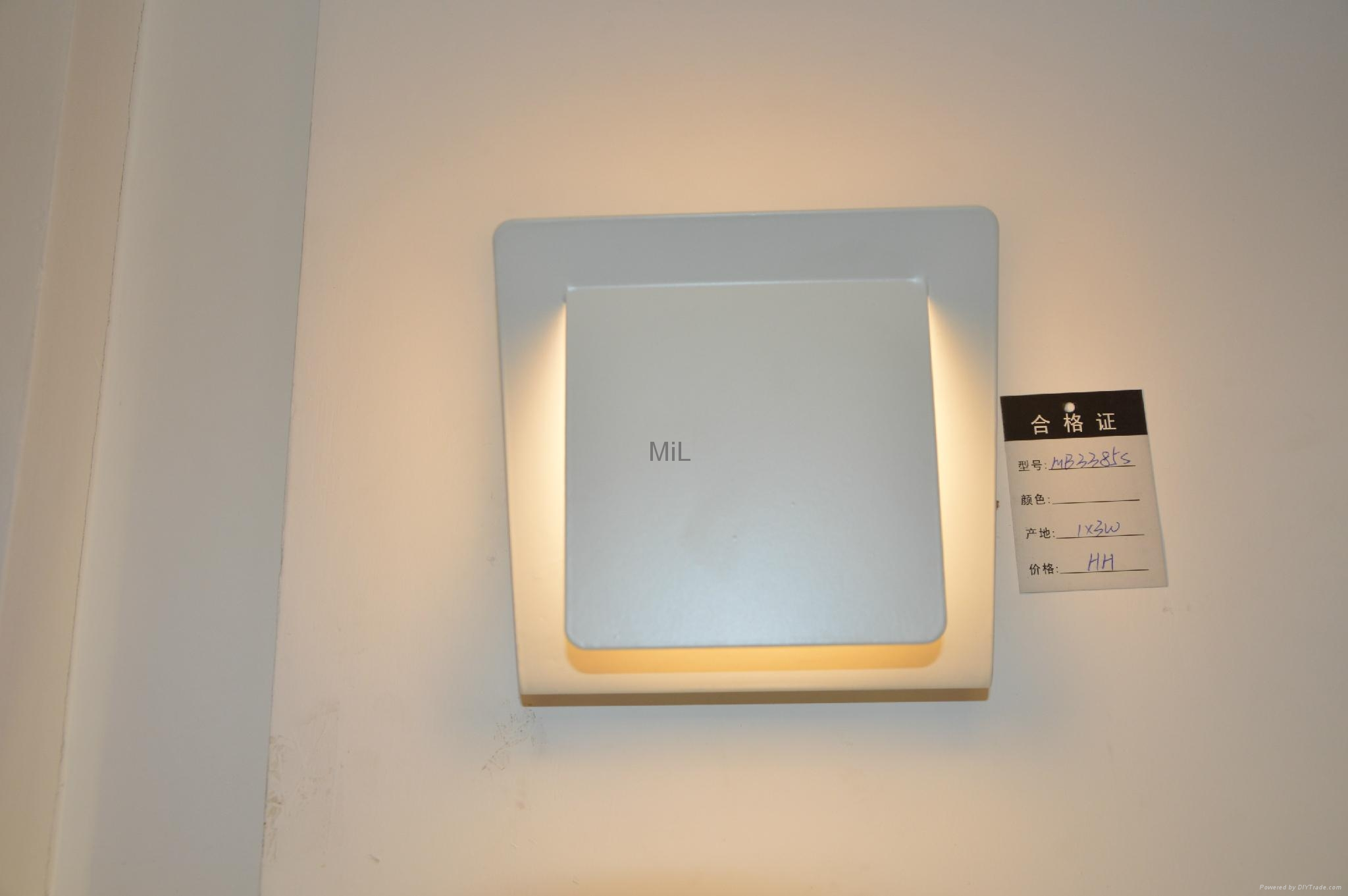 Modern LED Wall Lighting with CE &RoHS MiL-MB3335 7