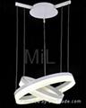 2015 good quality arcylic LED pendant