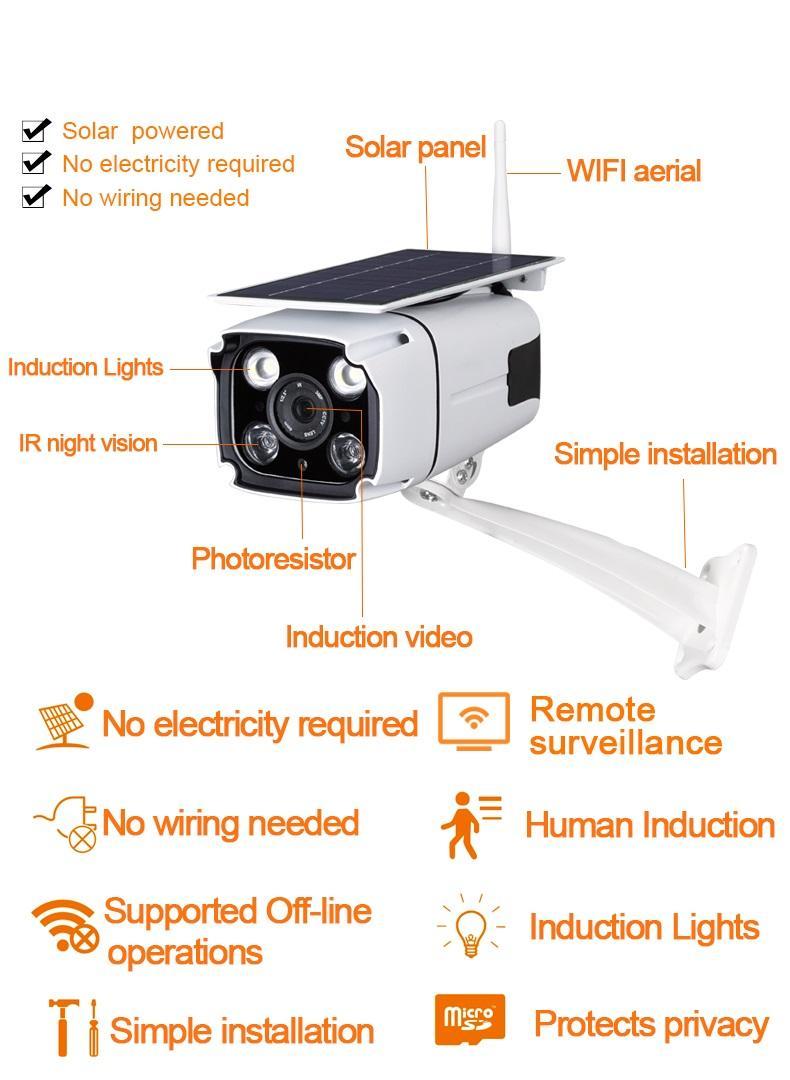 Solar Wifi CCTV 1