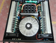 High output power professional power amplifier at 1800Wx2/8ohm