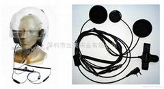 Skull Microphone for Helmet Intercom-Kit