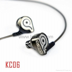 OSTRY KC06 HiFi In-ear Stereo Earphone Music IEM Headphones  (Fortress Besieged)