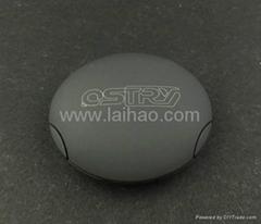 奧思特銳 超強抗壓磁吸式耳機收納盒 耳機配件(磐石)
