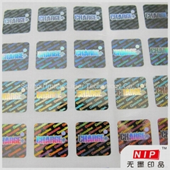 Free Design Personalized 3D Hologram Sticker