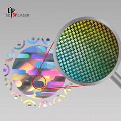 Shiny adhesive anti fake custom hologram