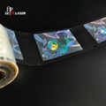 Clear Security Holographic Laminate Patch film for cards 1