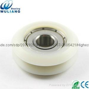 China 8x31x11.2mm high speed 608zz v groove wheel 4