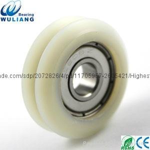 China 8x31x11.2mm high speed 608zz v groove wheel 2