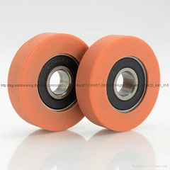 6000RS 10x40x10mm High Quality rubber coated ball bearing Rubber Coated Plastic