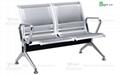 不鏽鋼機場椅 5