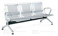 不鏽鋼機場椅 2