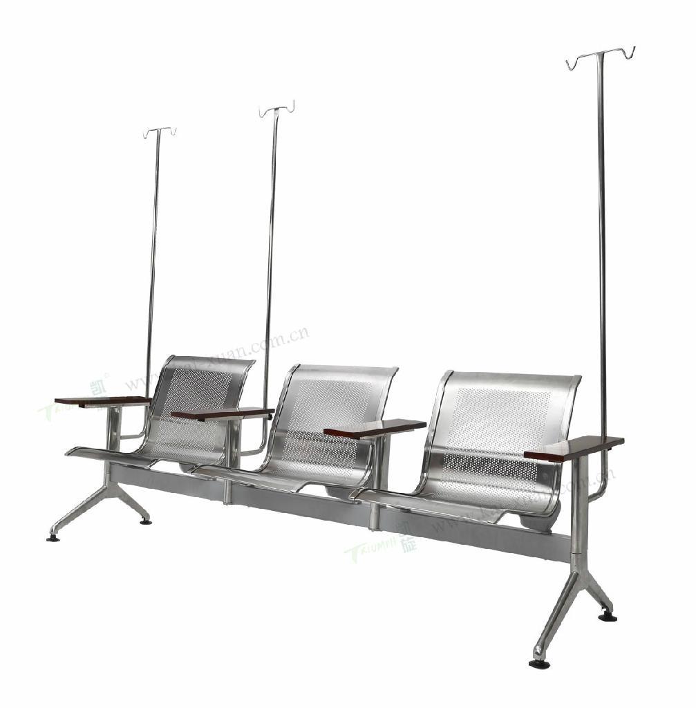 醫院用不鏽鋼輸液椅 1