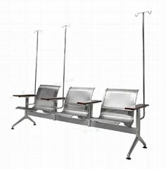 醫院用不鏽鋼輸液椅