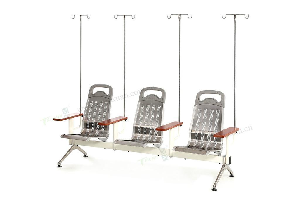 豪華不鏽鋼輸液椅 1