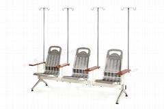 豪華不鏽鋼輸液椅