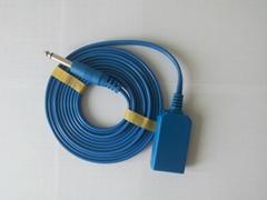 电刀负极板连线