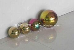 不鏽鋼球彩色不鏽鋼裝飾球